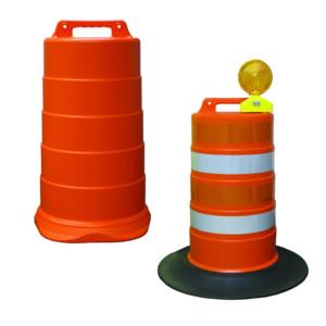 Traffic Cones, Barrels