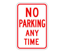 R7-1 No Parking Any Time