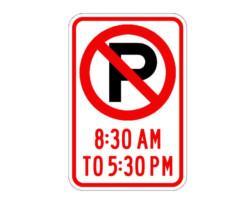 R7-2a Optional Parking Time Limits