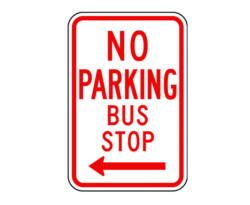 R7-7 (AL) No Parking Bus Stop