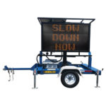 Traffic Safety Portable Solar Message Boards
