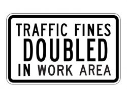 R(NJ)5-17 Traffic Signs Doubled in Work Area