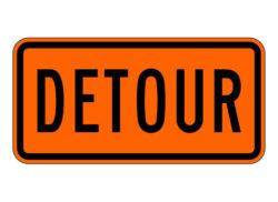 Construction Sign M4-8 Detour