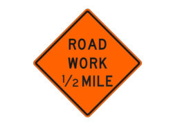 Construction Sign W20-1e Road Work
