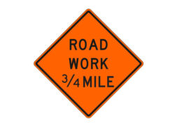 Construction Sign Road Work