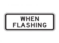 S4-4 When Flashing Signs