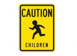 W9-11 Caution Children