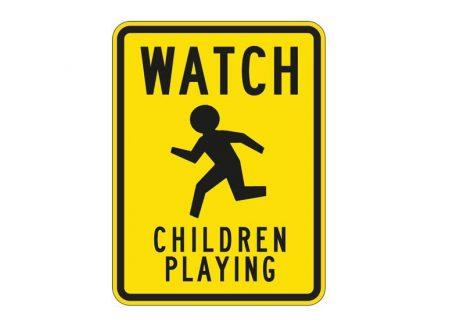 W9-13 Watch Children Playing