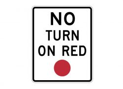 R10-11 No Turn on Red