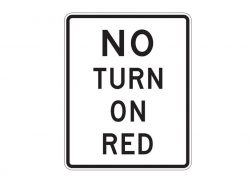 R10-11a No Turn on Red
