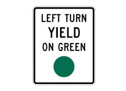 R10-12 Left Turn Yield on Green