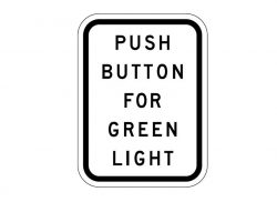 R10-3 Push Button For Green Light