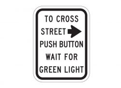 R10-3aR Push Button To Cross