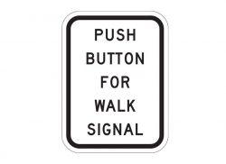 R10-4 Push Button For Walk Signal