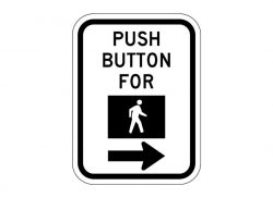 R10-4bR Push Button For Symbol (Right)