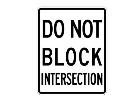 R10-7 Do Not Block Intersection