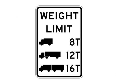 R12-5 Weight Limit Symbolic