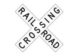 R15-1 Railroad Crossing Crossbuck