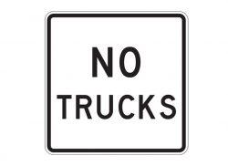R5-2a No Trucks