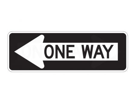 R6-1L One Way Left