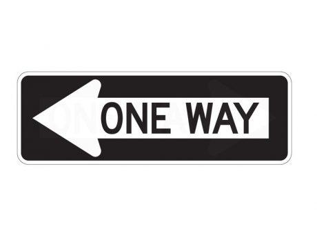 R6-1L One Way Left