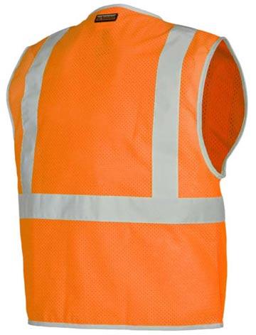 1507_1508 3 Pocket Zipper Mesh Vest