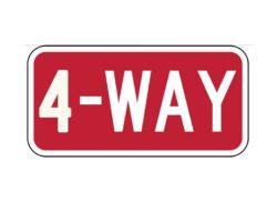 R1-34-Way Sign