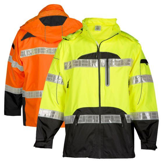 Fits 2X-Large and 3X-Large ML Kishigo RWP107 Brilliant Series High-Viz Rainwear Pant Orange RWP107  2X-3X