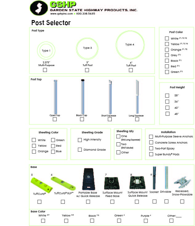 Post Selector