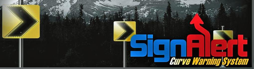 Sign Alert Curve Warning System
